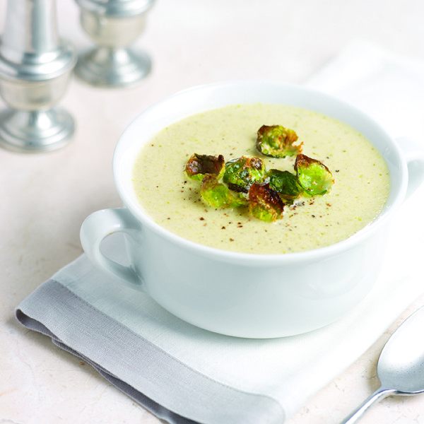 Creamy Brussels Sprout Soup