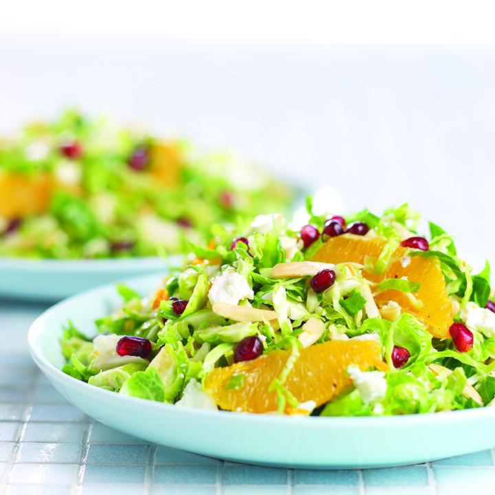 Brussels Sprout Citrus Salad