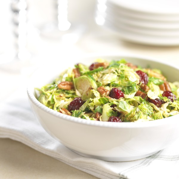 Warm Brussels Sprouts Salad