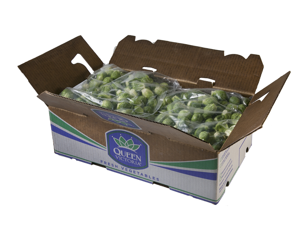 QV Brussels Sprouts Whole Carton