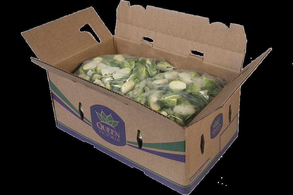 QV Brussels Sprouts 4 5lb halves