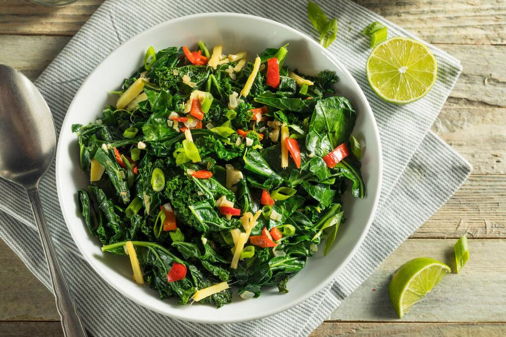 Recipes: Chopped Greens Kale Salad
